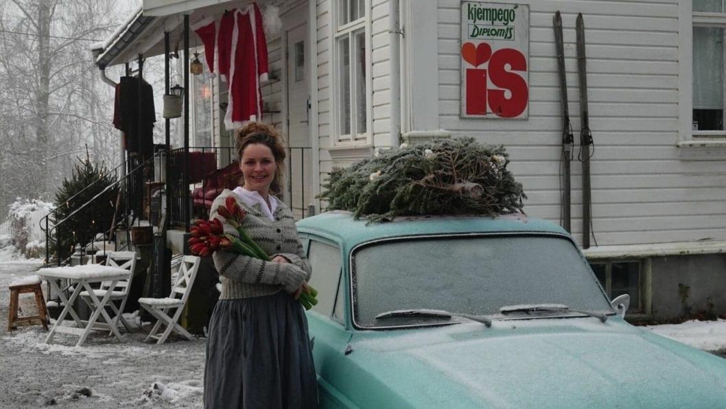 JULEDRONINGEN: Cecilie Steensen Skovholt er klar til å skape julemagi på Kolonialen til helgen.