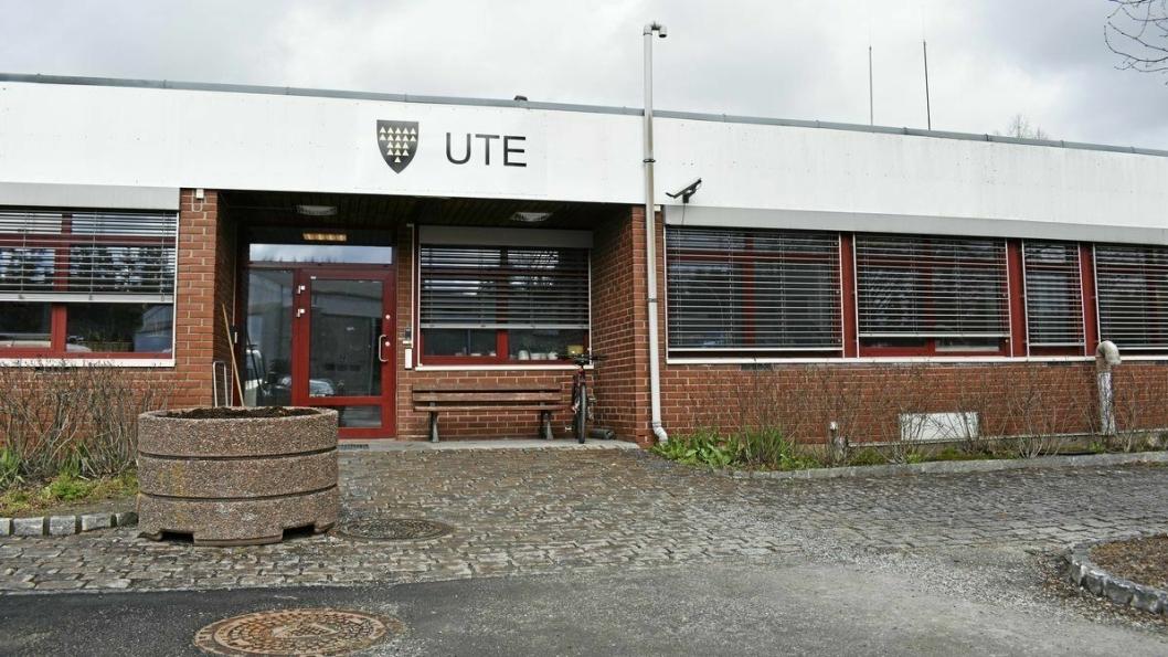 DELVIS FLYTTING: Den kommunaltekniske virksomheten UTE Oppegård, ligger i Sofiemyrveien 8 på Sofiemyr, mellom Oppegård brannstasjon og gjenvinningsstasjonen Follo Ren IKS. Alle avdelingene i dagens UTE Oppegård, med unntak v Vei og park, skal flytte til Ski.