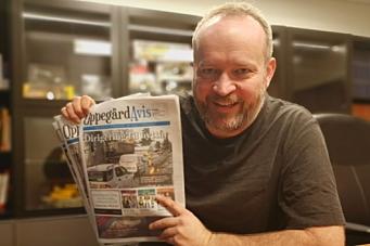 Hva skjer med avisen?