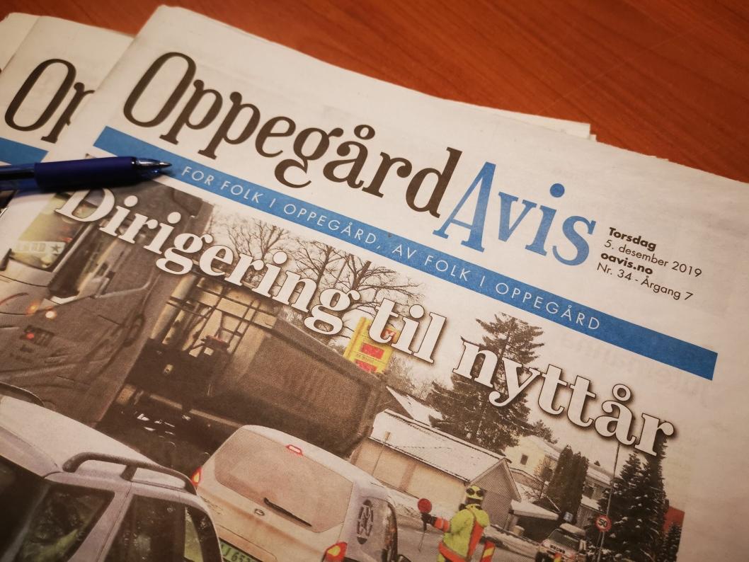 HJELP: Vi trenger et nytt slagord i den blå linjen nå som Oppegård kommune forsvinner Har du et forslag, send det til oss på tips@oavis.no.
