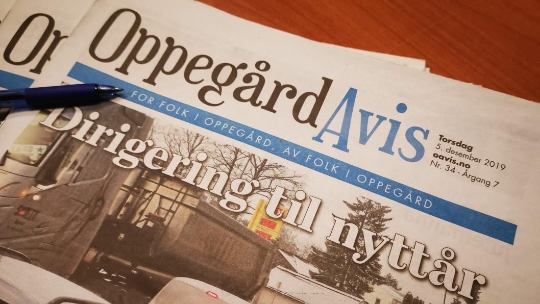 SAMHØRIGHET: Ingjerd Juel Ingeborgrud mener det vil være feil å holde på Oppegård Avis i den nye kommunen.