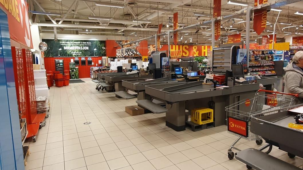SKAL PUSSES OPP OVER NYTTÅR: Coop skal starte oppussing av butikken på Sofiemyr over nyttår.