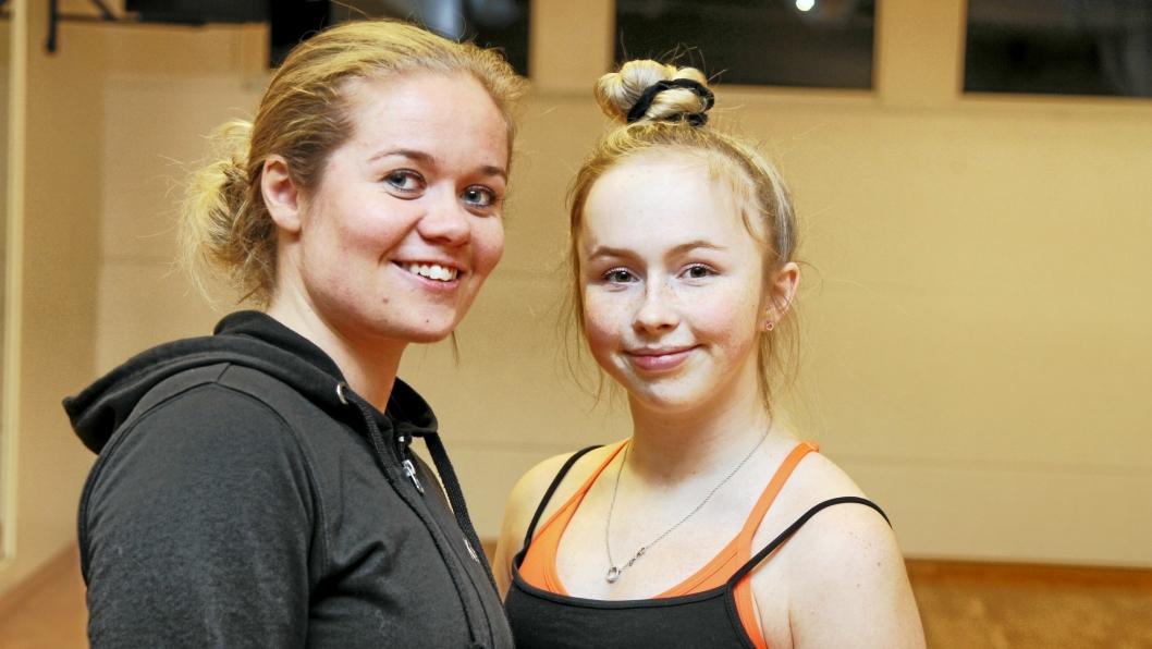 NÆRT FORHOLD: Emilie startet som 7-åring hos Kristine Ludvigsen i Follo Dansestudio. Treneren er selvsagt imponert over resultatene eleven oppnår.