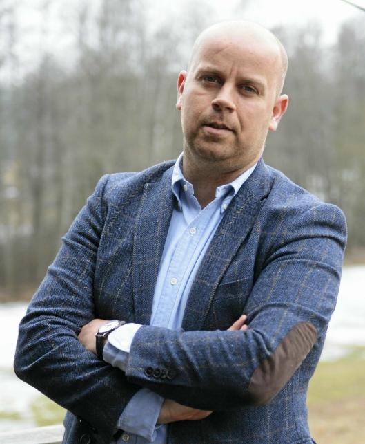 HAR STORE PLANER: Utbyggingsdirektør i Solon Eiendom, Tom André Svenning-Gultvedt, har store planer for Fløysbonn/Sofiemyr.
