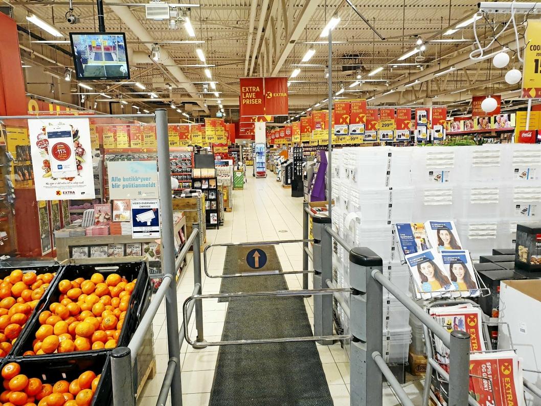 SKAL PUSSES OPP: Coop Prix Sofiemyr skal starte oppussing av butikken i den nærmeste tiden.