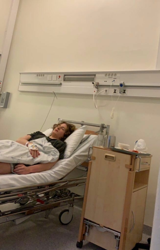 SYKEHUS: Bilde fra Ullevål sykehus. Vi bruker bildet med godkjennelse fra Bondevik. Foto: Privat.