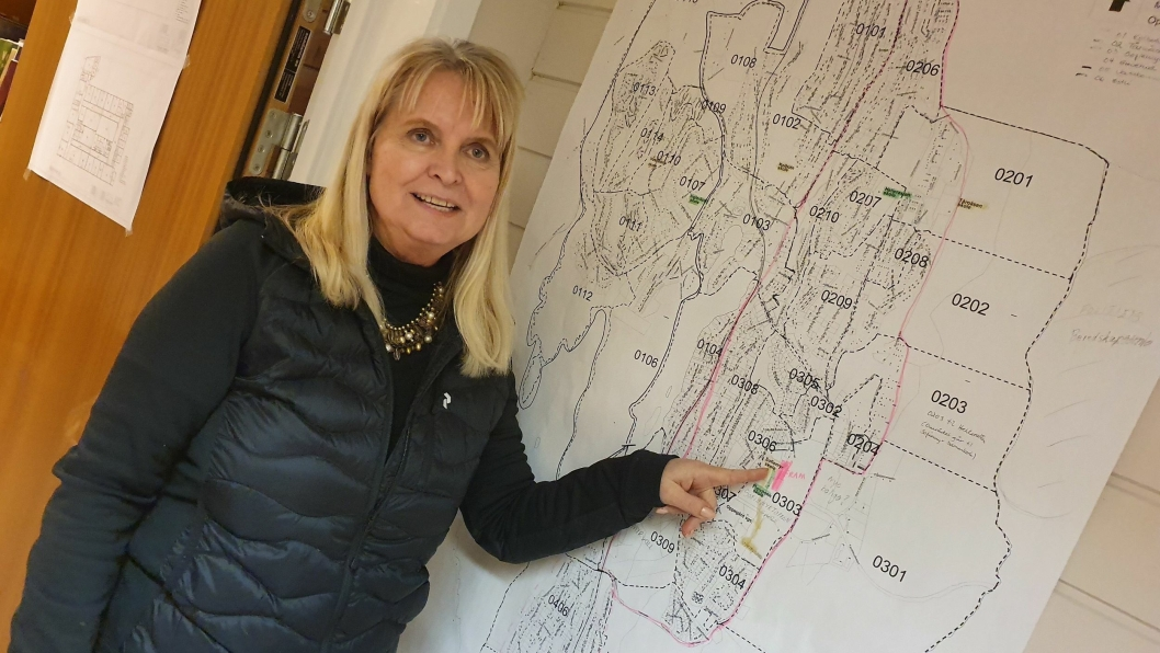 TROR PÅ FRAM: – Dette kan hjelpe til å løsne proppen, sier rektor på Hellerasten skole, Grete Skaug.