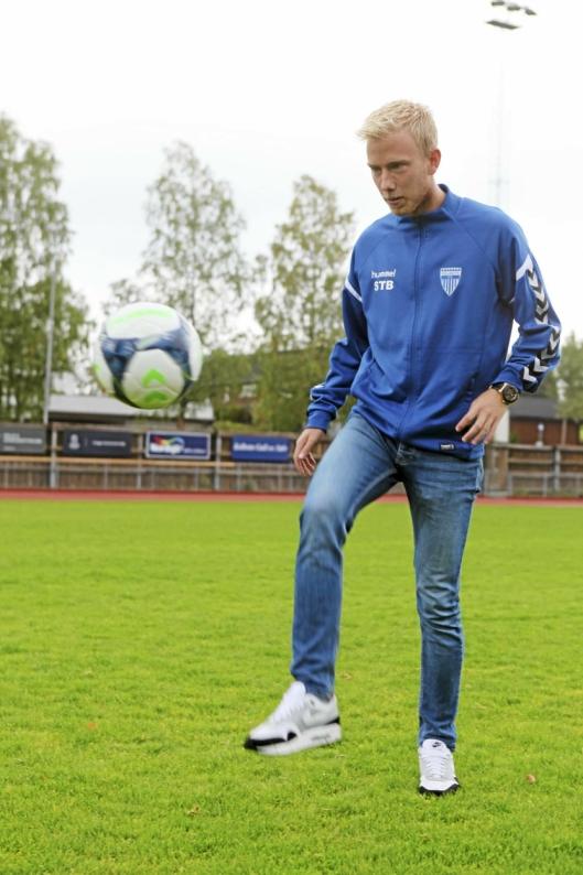 HAR TRUA: Sindre Tverå Brevik skal være både spiller og trener i 2020-sesongen og har tro på KILs muligheter i fjerdedivisjon.