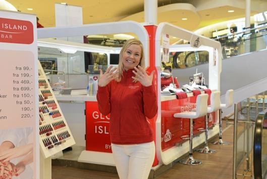 Elisabeth Schei, som var eier av Glossy Island Nailbar på Kolbotn torg.