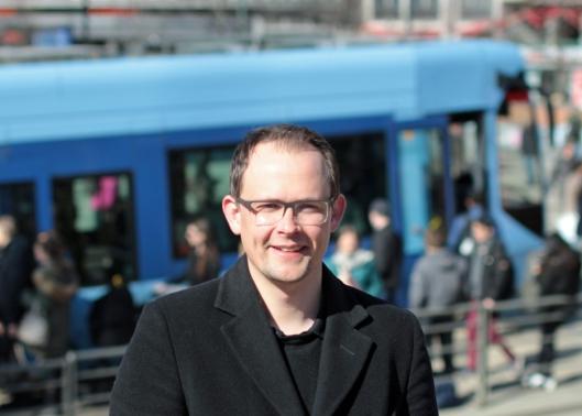 Knut-Martin Løken kommunikasjonsrådgiver i Ruter. Pressefoto Ruter