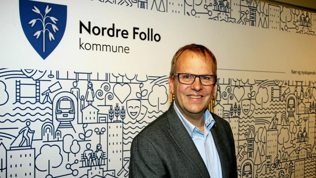 POLITIKER: Helge Marstrander er kommunestyrerepresentant for Nordre Follo Høyre.