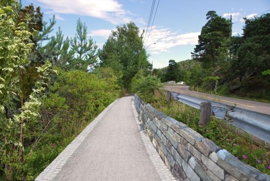 UT PÅ TUR: Nye turveier er foreslått, som skal binde Oslo og Oppegård-siden sammen.