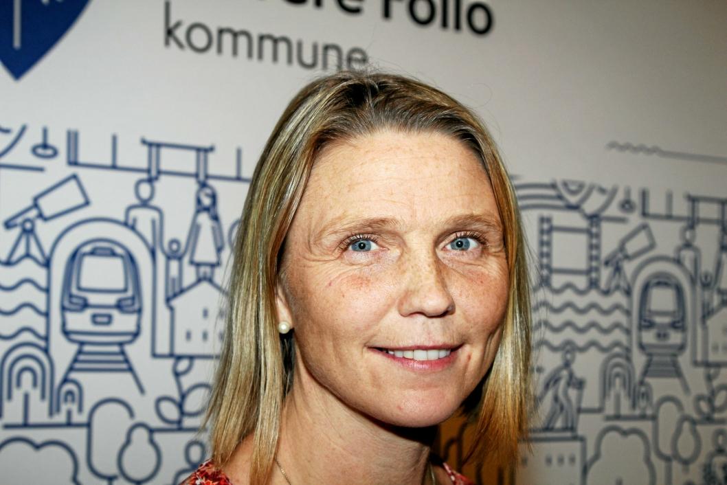LOVER GRUNDIG VURDERING: – Fokus må være at vi bygger for framtiden og ikke «kladder» på halvgode løsninger, sier Camilla Hille (V), utvalgslederen for oppvekst, idrett og kultur i Nordre Follo kommune.