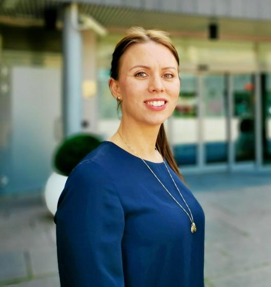 ROLIG: Senterleder Marianne Thoresen-Larsen ser lyst på fremtiden til Kolbotn torg.