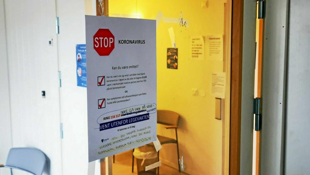 FLERE SMITTEDE: Lørdag kveld er det klart at til sammen 17 personer av smittet koronavirus i Nordre Follo.