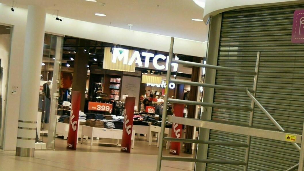 STENGER: Match, VIC og Boys of Europe eies av Voice, og må midlertidig stenge butikkene sine.