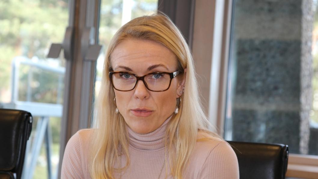 BEKREFTER SMITTE: Konstituert kommuneoverlege i Nordre Follo kommune, Kerstin Anine Johnsen Myhrvold.