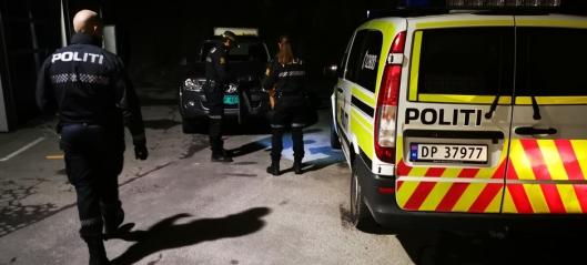 Stor politiaksjon etter innbrudd på Mastemyr
