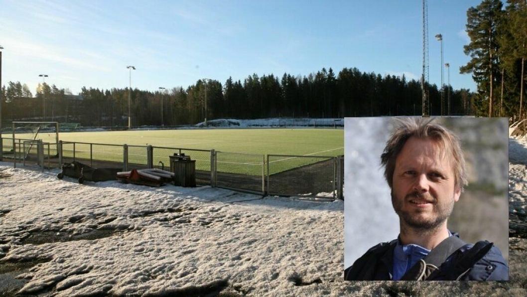 REAGERER PÅ FORSKJELLSBEHANDLING: Anders Eldor Boye (46) fra Kolbotn er en av de mange trenerne som reagerer sterkt på forskjellsbehandlingen av fotballjentene i KIL.