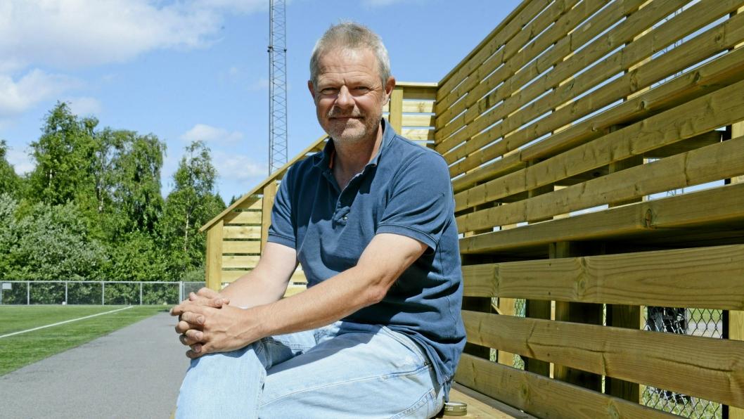 ILDSJEL: Pål Wirak er frivillig, trener og ildsjel for fotballen i Kolbotn IL.