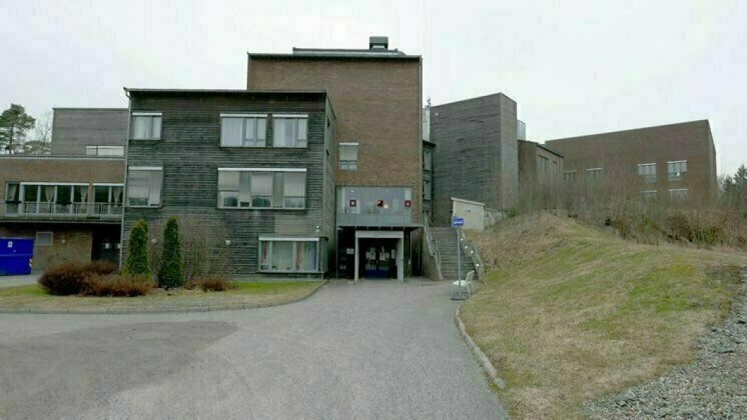 AVHJELPER AHUS: Nordre Follo kommune åpnet 30. mars en mottaksavdeling for utskrivingsklare pasienter med covid-19 fra Ahus på Langhus bo- og servicesenter. Dette er en del av kommunens ansvar for å avhjelpe Akershus universitetssykehus i en svært krevende situasjon.
