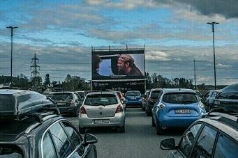 Suksess med drive-in kino