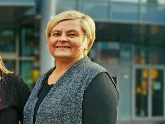 FORNØYD: Kulturhusleder i Kolben, Lone Schrøder er glad for de positive tilbakeldingene.