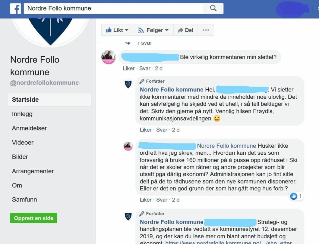 REAGERTE PÅ ØKONOMISKE PRIORITERINGER: En innbygger fra Sofiemyr (red. anm.: Oppegård Avis har vært i kontakt med vedkommende, men han ønsker å være anonym i avisen) reagerte på de økonomiske prioriteringene i Nordre Follo kommune.