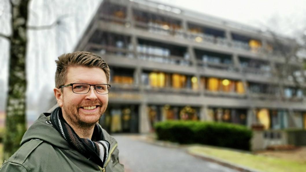 """– VIKTIG MED JEVN FORDELING: – Artikkelen """"Skeiv satsing på tvillingbyer?"""" viser hvor viktig det er at lokalpolitikerne har dette i bakhodet, så ikke den ene tvilling-""""byen"""" blir glemt foran den andre, sier varaordfører Hans Martin Enger (MDG)."""