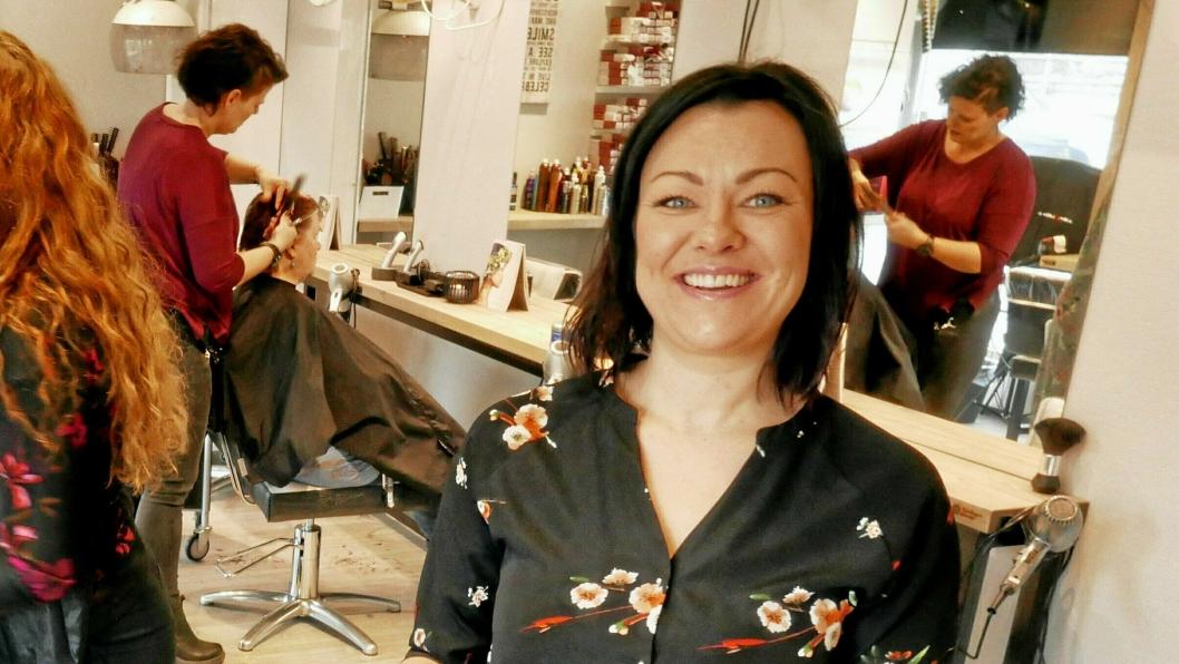 DAGLIG LEDER: Anne-Marie Wiseth er daglig leder for Sofiemyr frisør.