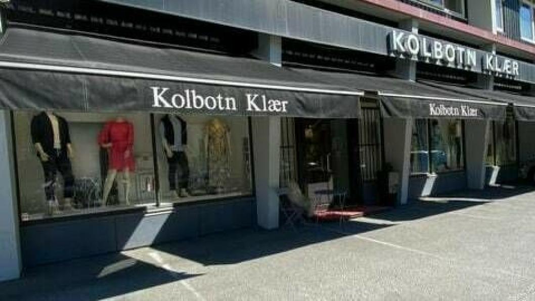 FREKT TYVERI: En ung mann stjal fra Kolbotn Klær. – Trist, sier eier Barbro Ottesen Muri.