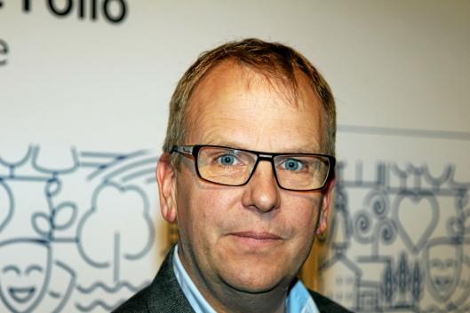 HØYRE-POLITIKER: Helge Marstrander tar bladet fra munnen i innlegget han fremmer i kommunestyret onsdag denne uken.