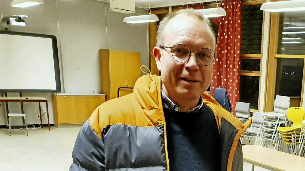 SLUTTER: Kjetil Myklebust slutter som rektor ved Sofiemyr skole.