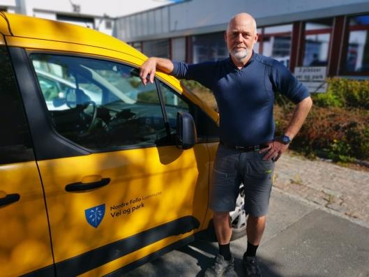 AKSJONERTE: Per Kristiansen er avdelingsleder i Nordre Follo kommune. Nå håper han det blir satt stopper for forsøpling.