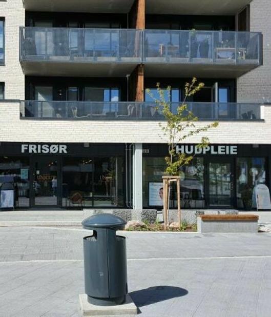 FLYTTET TIL MYRVOLL: Unicut Frisør og Hudpleiesenteret Han og Henne har allerede flyttet til Trelastveien 12 på Myrvoll Torg.