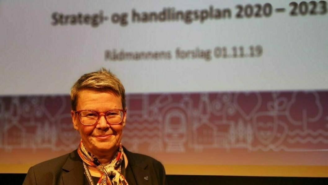 NORDRE FOLLOS FØRSTE RÅDMANN: I 2017 ble hun prosjektrådmann for sammenslåingen mellom Ski og Oppegård kommuner, som senere ble Nordre Follo kommune, hvor hun da ble rådmann fra 1. januar 2020.