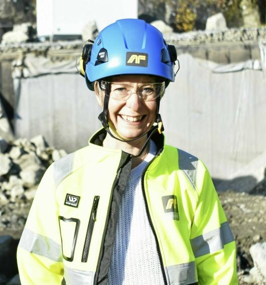 ANSVARLIG FOR PROSJEKTET: Virksomhetsleder for byggeprosjekter i Nordre Follo kommune, Aud Val.