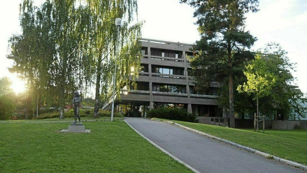PRESSEMØTET: Pressemøtet skal holdes i Oppegård rådhus klokken 15:00 mandag 10. august.