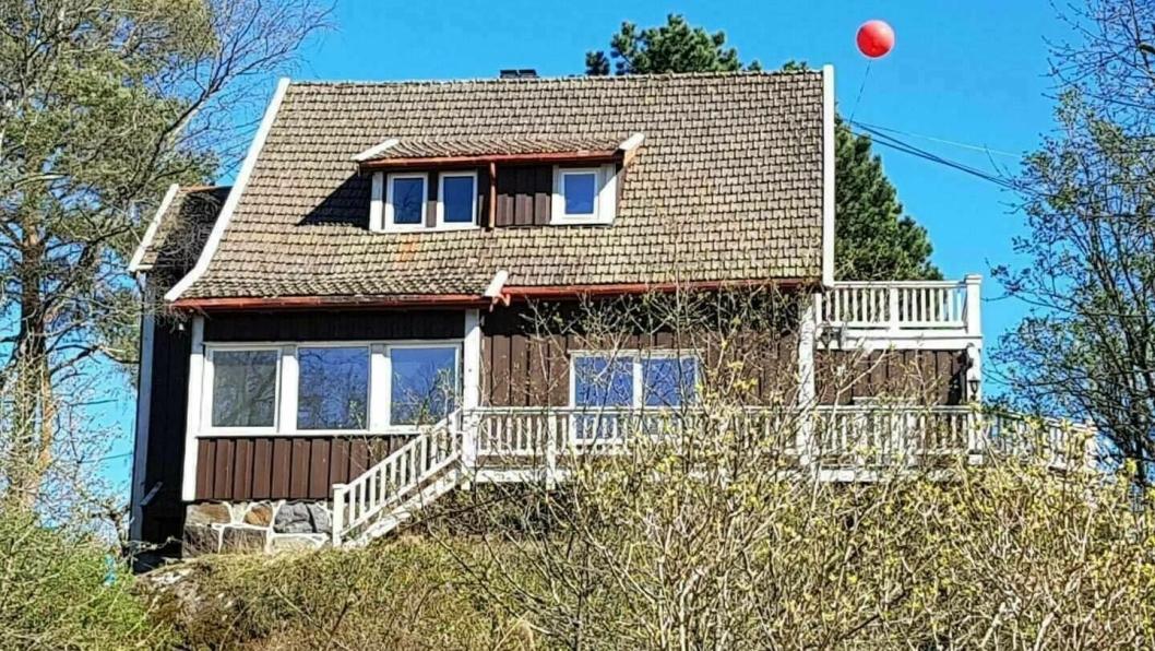 VENLEIK: Huset Venleik (ca. 1915) er helt sentralt og utgjør en del av den originale bebyggelsen i Kolbotn sentrum.