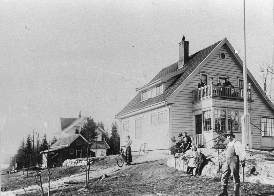 HISTORISK BYGNING: Huset Venleik er fra ca. 1915.
