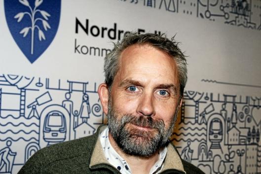 STOLER PÅ KIL OG KOMMUNEN: Paal Sjøvall (Sp).