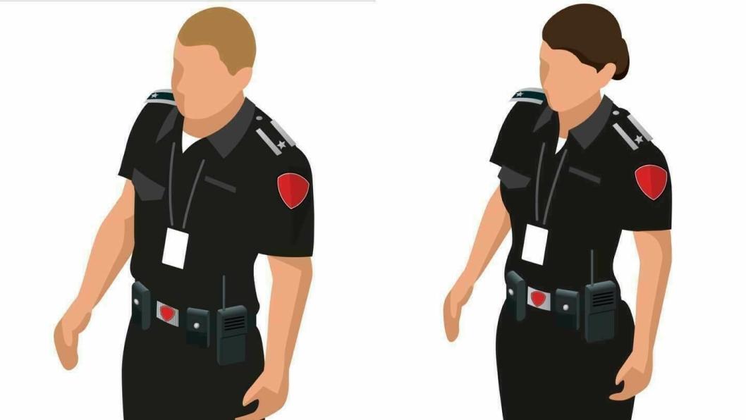 SLIK SER ANSATTE I BRANNVESENET UT: – Våre ansatte er alltid tydelig uniformert og skal bære lett synlig ID-kort fra Follo Brannvesen IKS, sier informasjonsansvarlig i Follo Brannvesen IKS, Daniel Solli.