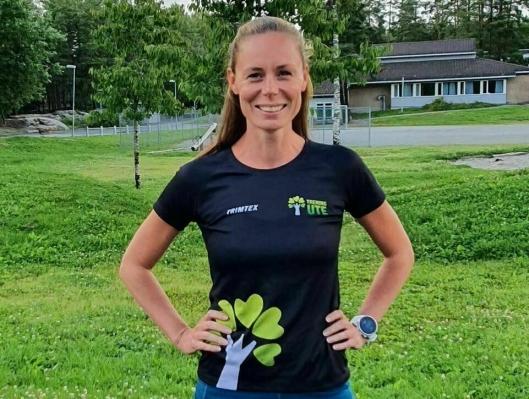 SPRER TRENINGSGLEDE: Arrangementansvarlig Kristin Granum Rosebø fra Tårnåsen.