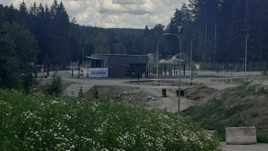 SNART FERDIG: Oslo politidistrikt overtar beredskapssenteret på Taraldrud i september 2020.