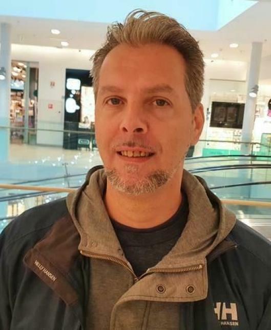FORNØYD MED SOMMEREN: Mikael D. Mack (43) fra Kolbotn.
