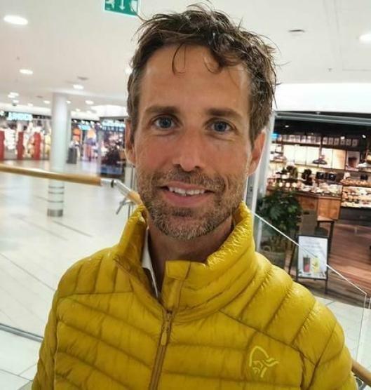 MER HJEMME OG MINDRE MED VENNER: Sigve Bjørstad (46) fra Kolbotn.
