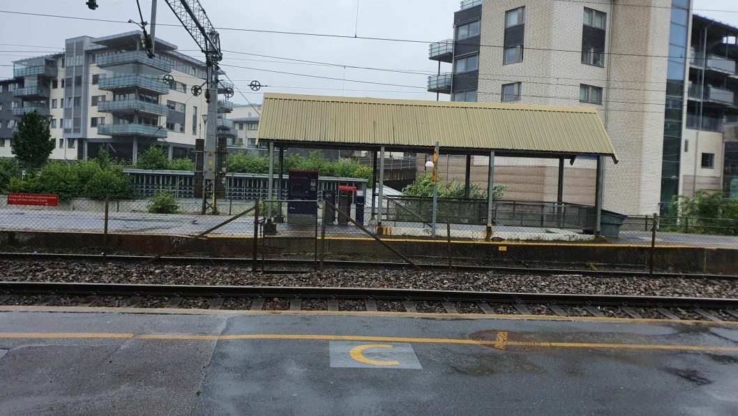 HAR VÆRT STENGT I SEKS UKER: Arbeidene, som har pågått på  på sporet mellom Oslo S og Rakkestad/Rygge siden 27. juni, skal avsluttes førstkommende mandag 10. august.