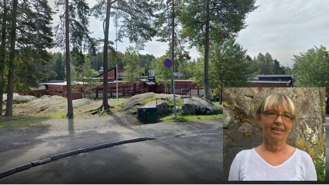 BEKYMRET: I SFO på Vevelstadåsen skole på Langhus skal kun fem ansatte og en foresatt testes . De 36 førsteklassinger som er satt i karantene skal ikke testes – kun hvis de utvikler symptomer. Elisabeth Aarsæther fra Tårnåsen er bekymret for de to barnebarna som går på denne skolen, men også for resten av familien.
