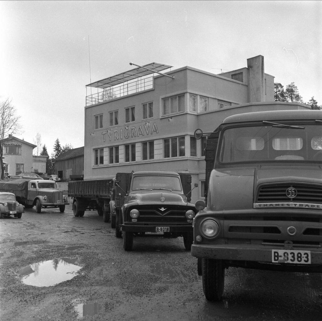 1959: Slik så Tyrigrava ut i 1959.