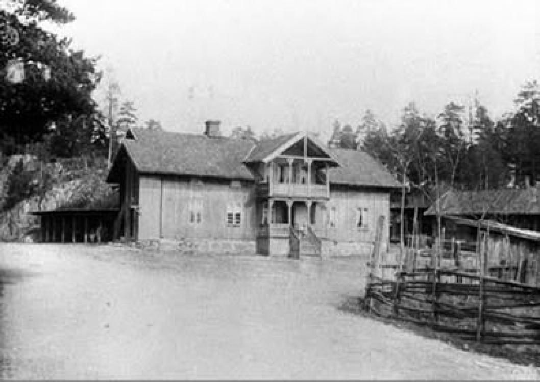 120 ÅR TILBAKE: Tyrigrava i 1900.